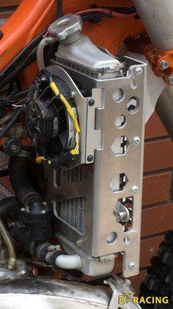 Radiator Guards KTM 08-16 Husqvarna 14-16 + SPAL FAN