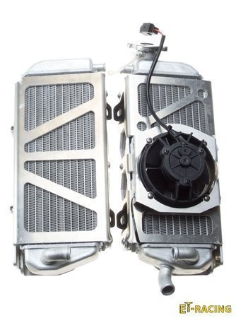 Radiator Guards with FAN KIT for TPI, FUEL INJECTED KTM Husqvarna 17-21 GAS GAS 21