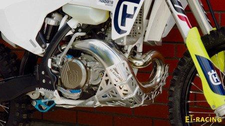 Skid plate/pipe guard LIGHT for KTM EXC Husqvarna TE 2017-2019